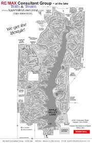 Ohio Road Map Apple Valley Lake Map