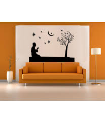 hoopoe decor man performing namaz wall stickers and wall decals