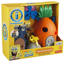 fisher price spongebob squarepants pineapple playset toys