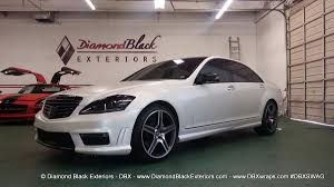 mercedes jeep matte white 2013 mercedes benz s65 wrapped in satin pearl white by dbx