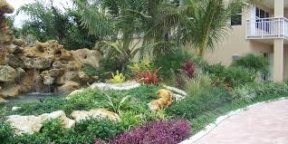 Houzz Backyards Tropical Landscape Design Around Pool Articlespagemachinecom