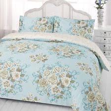 Duck Egg Blue Duvet Sets Polyester Floral Duvet Covers U0026 Bedding Sets Ebay