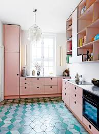 Retro Kitchen Design by Best 25 Retro Pink Kitchens Ideas On Pinterest Vintage Stuff