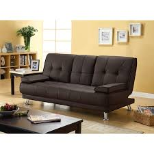 flash futon sofa bed dark brown value city furniture