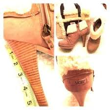 ugg womens georgette shoes chestnut ugg boots on poshmark