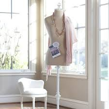 Pottery Barn Jewelry Stand Dress Form Linen Pbteen