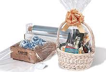 shrink wrap gift paper gift basket supplies