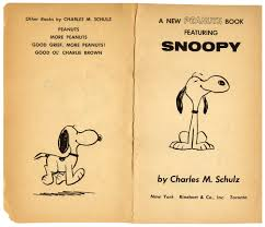 lot detail charles schulz hand drawn sketch of snoopy in u0027 u0027a new