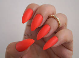 red matte stiletto nails nail art nail designs stiletto nails