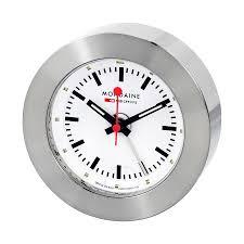 mondaine white dial alarm clock a992 truk 16sbb mondaine