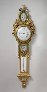 clockmaker claude siméon passemant wall clock thermometer