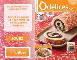 jeux de cuisine de 2012 jeu concours gagnez 1000 magazines odelices n 10 hiver 2012 ôdélices