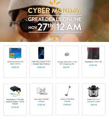 walmart cyber monday 2017 ads deals and sales