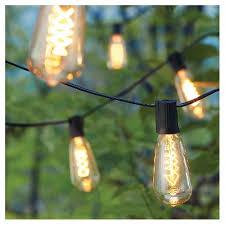 Edison Bulb String Lights 10 Lt Filament Bulb String Lights Smith U0026 Hawken Target