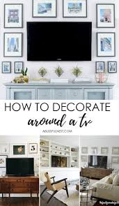 how to decorate new house how to decorate around a tv a blissful nest interior design blog