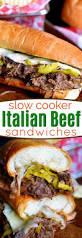 italian thanksgiving dinner slow cooker italian beef sandwiches mom on timeout