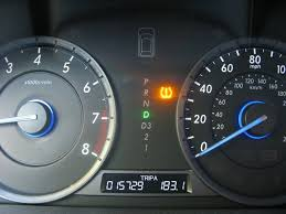 Honda Warning Lights Low Tire Pressure That U0027s All 2010 Honda Crosstour Long Term