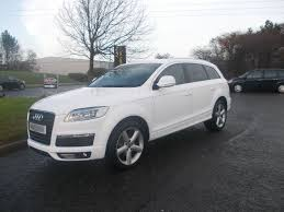 Audi Q7 2007 - audi q7 s line quattro automatic 7 seater stunning white 2007