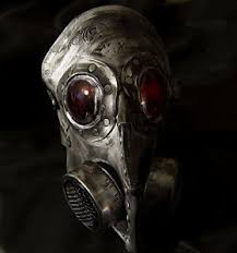 Gas Mask Halloween Costume Steampunk Leather Gas Mask Halloween Costume Comiccon Plague