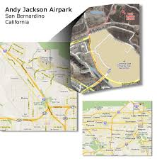 Chino Hills California Map Maps To Andy Jackson Airpark