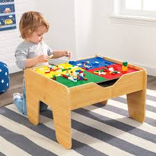 Setting The Table L Is For Learning by Amazon Com Kidkraft Lego Compatible 2 In 1 Activity Table Toys