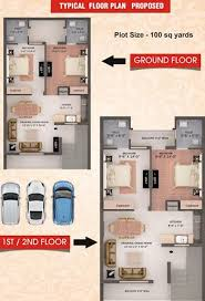 Home Design For 100 Sq Yard by Elite Elite Home In Daun Majra Mohali Price Location Map