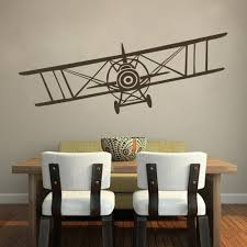 Amazon Wall Murals by Amazon Com Vinyl Airplane Wall Decal Biplane Wall Sticker