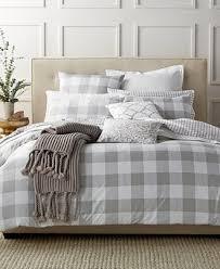 Macy Bedding Comforter Sets Charter Club Damask Designs Gingham Dove Comforter Sets Only At