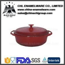 cast iron enamel cookware china non stick cast iron enamel cookware round casserole pot