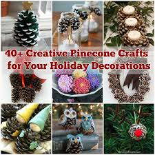 creative ideas diy felt and pinecone owl ornaments