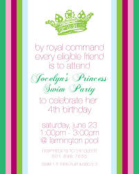 disney princess invitations free templates free printable