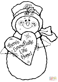 there u0027s snowflake like home coloring page free printable
