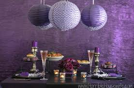 Valentines Day Tablescapes by Dark Romance Valentine U0027s Day Purple And Black Tablescape Ideas