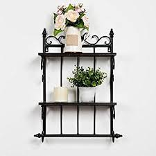 Bathroom Storage Rack Ss Wrought Iron Wall Shelf Living Room Kitchen