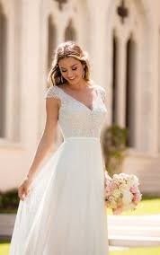 wedding dress simple simple and sophisticated wedding dress stella york