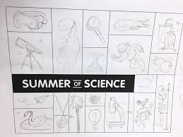 summer of science u2014 brenna noel u2013 illustrator designer