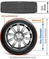 Tire Conversion Chart Motorcycle Tire Size Calculator U2013 Tire Dimensions Diameter Circumference