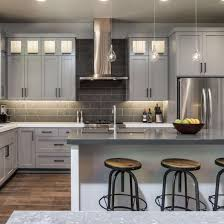 solid wood kitchen cabinets wholesale factory wholesale high quality grey solid wood kitchen cabinet