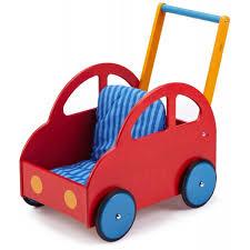 wagon baby haba pushing car walker wagon attelia baby wood toys strollers