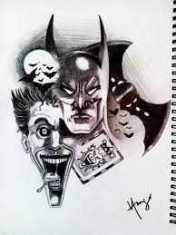 38 batman joker tattoos