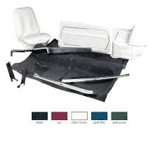 Upholstery Parts Chevrolet Camaro Parts Interior Soft Goods Interior Upholstery