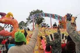orange mardi gras let the times roll with events on alabama s beaches
