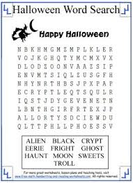 halloween word search bullying pinterest halloween word
