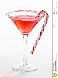 martini rose christmas martini stock image image of candy closeup 34709263