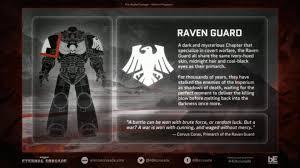 vote raven guard warhammer 40 000 eternal crusade official forum