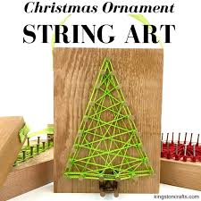 reclaimed string ornaments and free printable