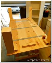 attaching legs to a table recaptured charm do it yourself rustic coffee table