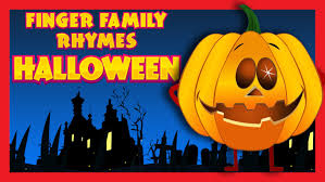 Creepy Halloween Poem Finger Family Rhymes Halloween Songs For Children Scary