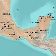 Teotihuacan Map Mexiko Rundreise Und Baden Auf Den Spuren Der Azteken U0026 Mayas