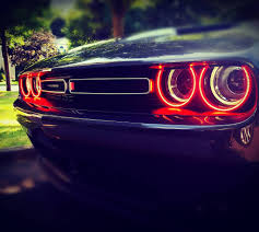 Dodge Challenger Reliability - 2015 2017 dodge challenger led headlight halo kit by oracle u2013 nfc